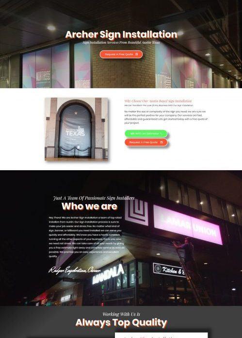 website design temecula sign installation service (1)