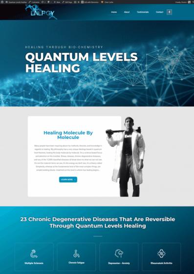 web design doctor healing